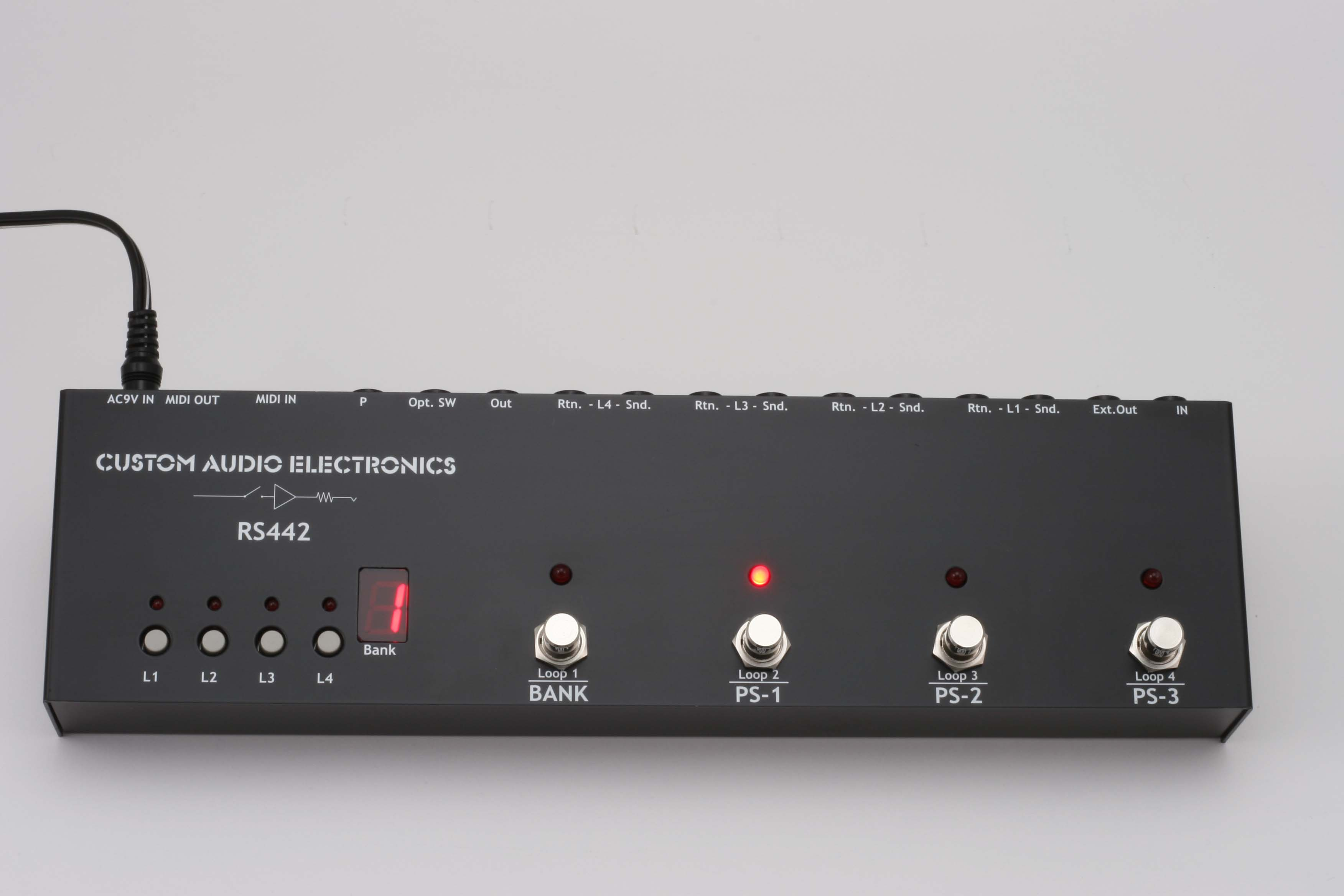Musikinstrumente Custom Audio Electronics Rs-10 Pro-audio Equipment